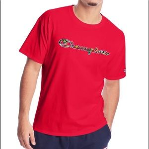 Champion Classic Jersey Tee, Flags Of The World XL